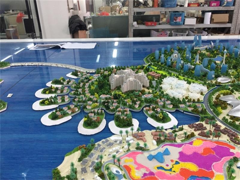 深圳城市规划沙盘模型――数字沙盘将成为未来宠儿