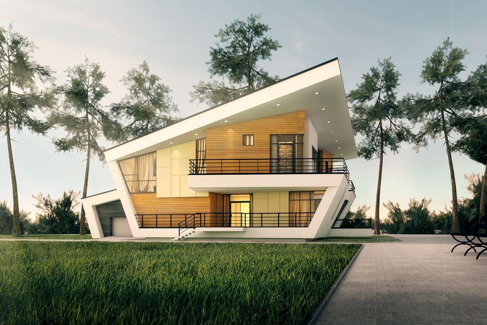 现代的建筑风格可谓是多种多样
