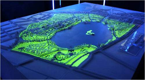 智能沙盘模型的照明部署影响客户成交