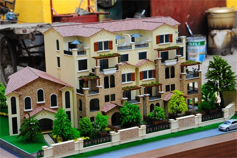房地产类型的智能沙盘模型的特点