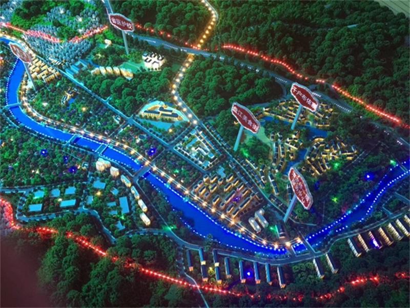 建造深圳城市规划沙盘模型的目的是什么