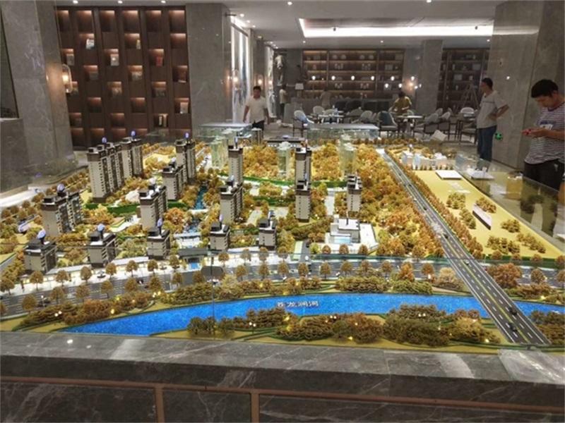 深圳尊府沙盘建筑模型