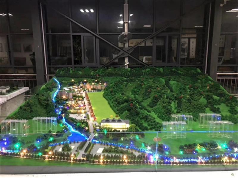 东莞市万安花园模型
