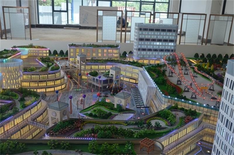 佛山红星国贸商业楼盘模型