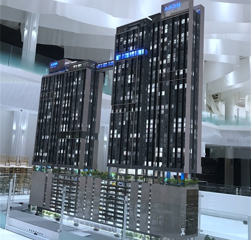 马来西亚吉隆坡AK商业建筑模型