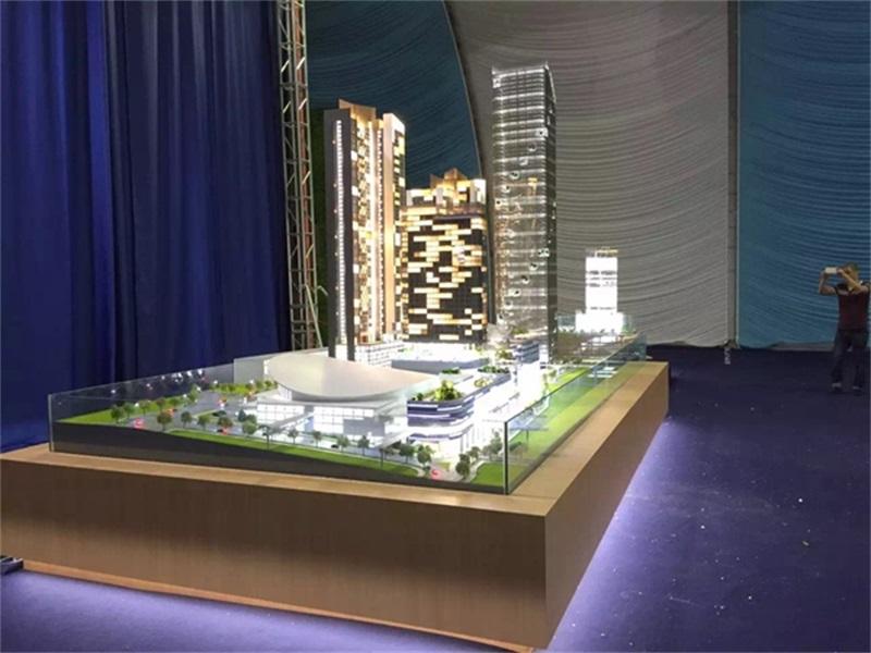 马来西亚新山模型