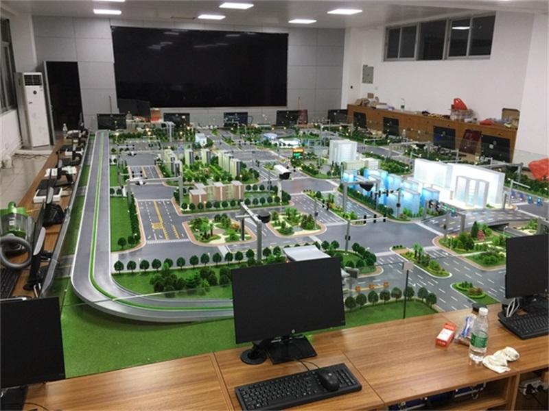 广东警院智能交通沙盘