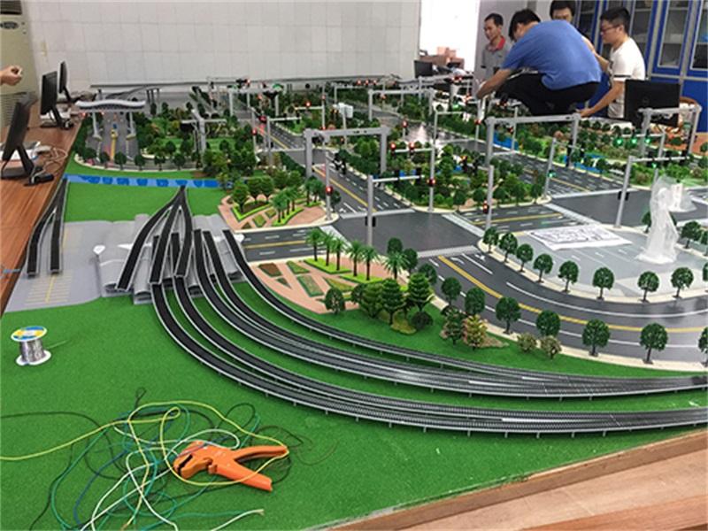 广州大学城交通模型